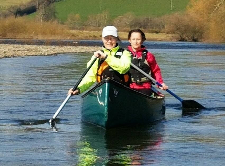 kayaking breaks river wye wales