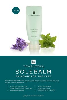 New Products at The Spa