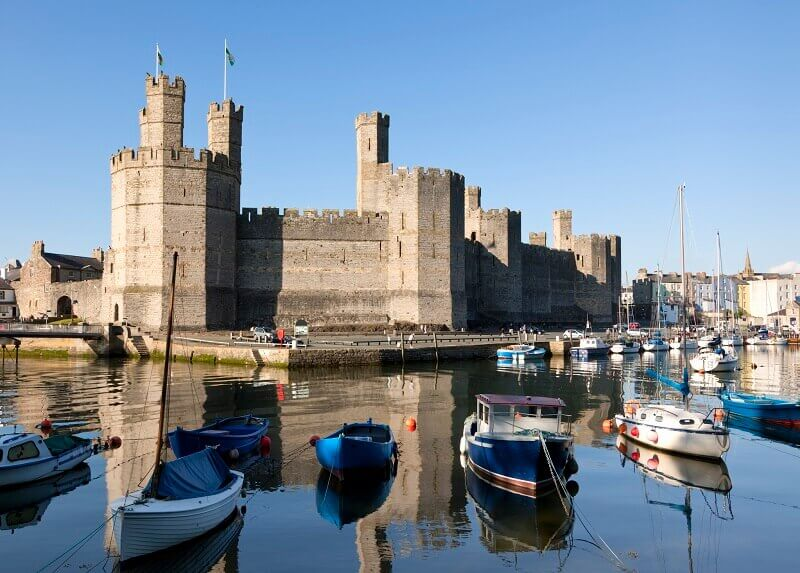 Welsh castles to visit North wales