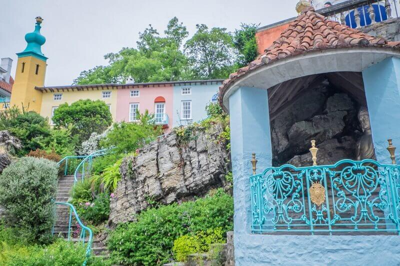 Quirky unique places to visit Portmeirion Wales