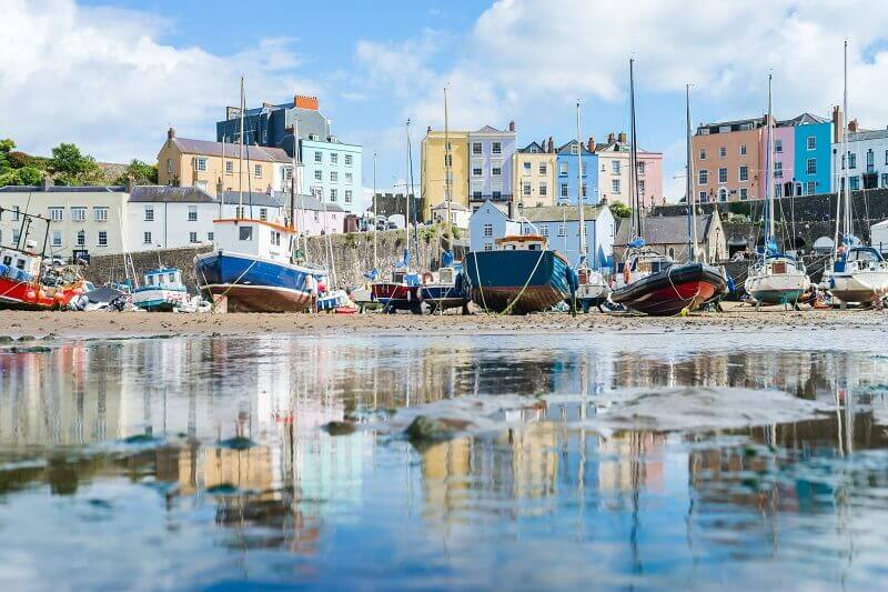 Tenby best Welsh towns to visit